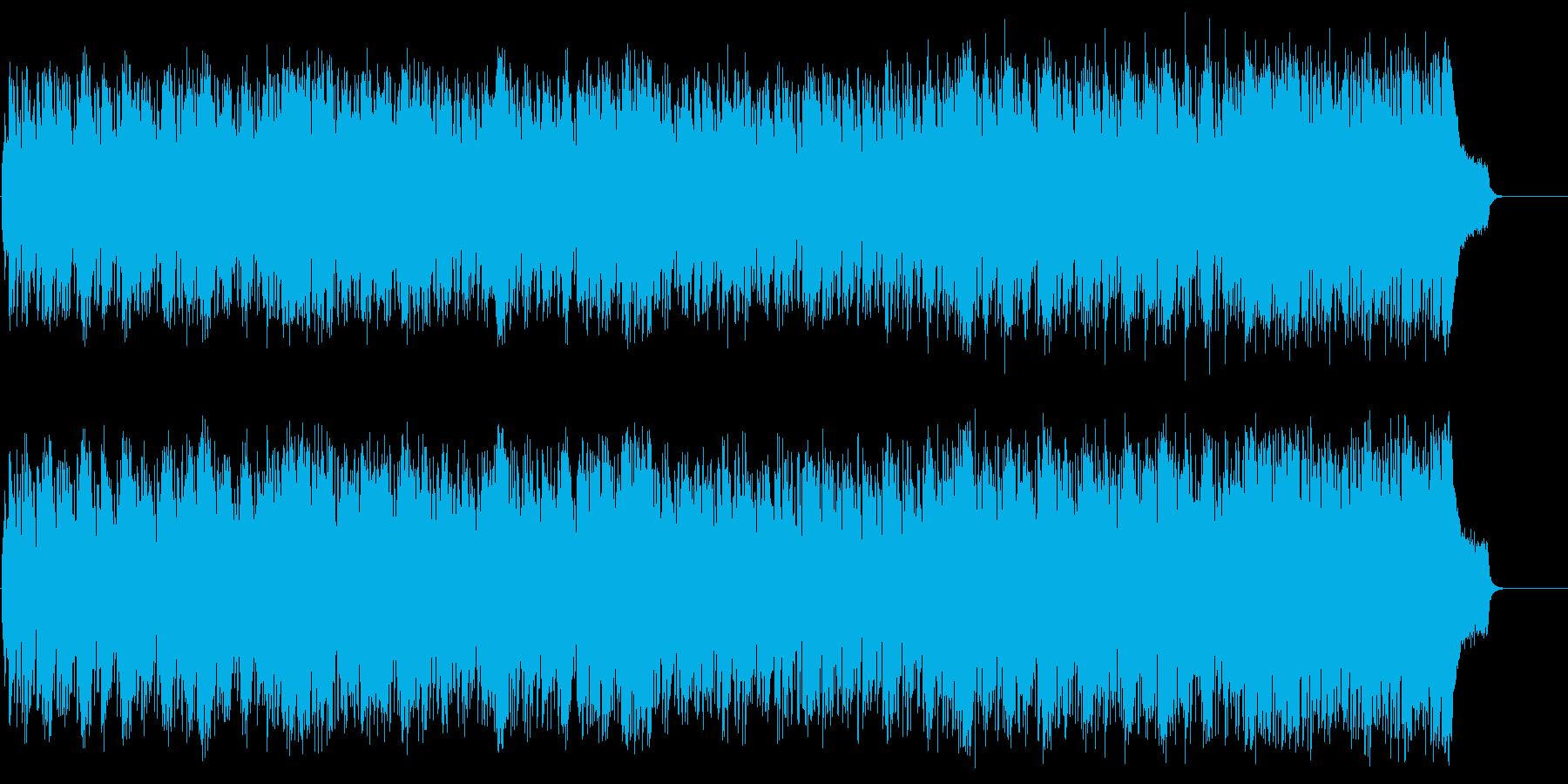 サスペンス・ドラマ風軽快なポップ/テーマの再生済みの波形