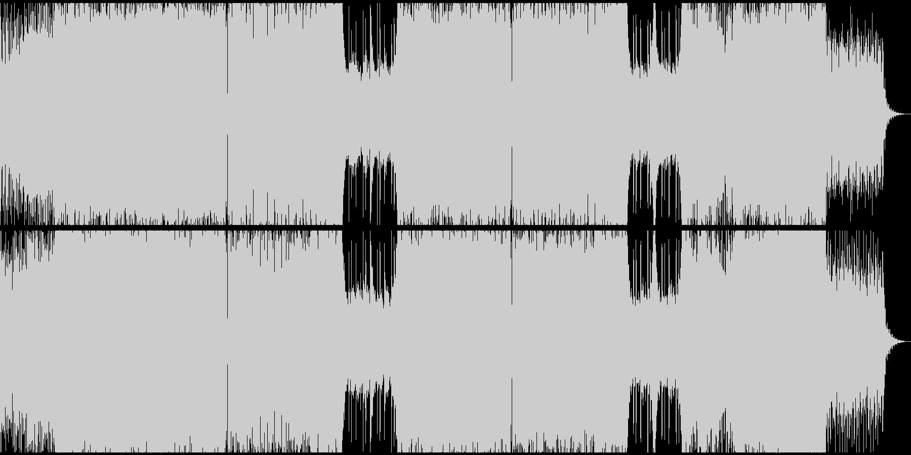 シンセフレーズ・デジタルミュージックの未再生の波形