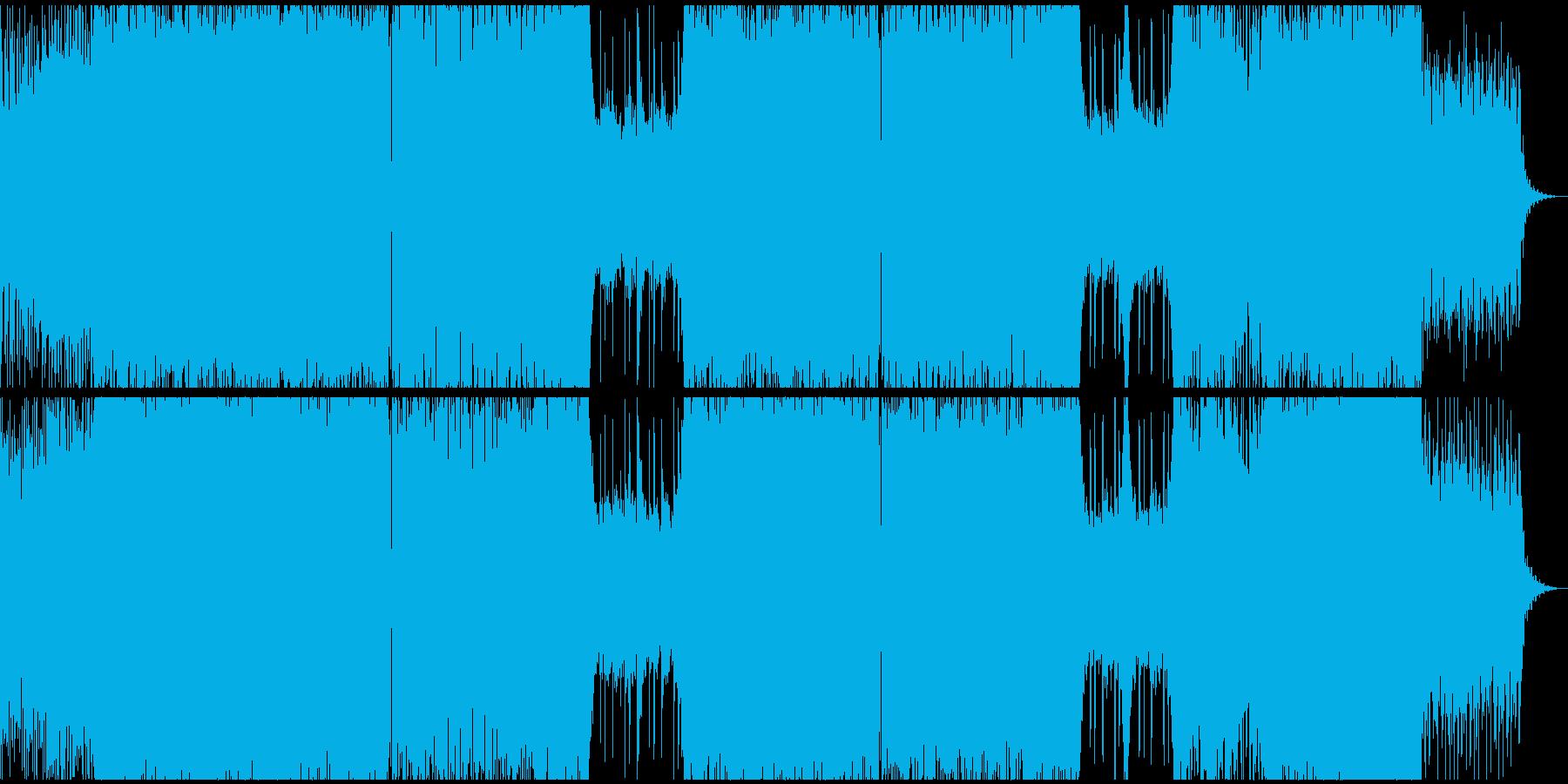 シンセフレーズ・デジタルミュージックの再生済みの波形