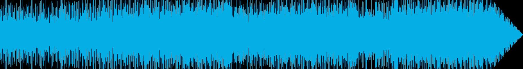 1970年代風レトロなディスコリックの再生済みの波形