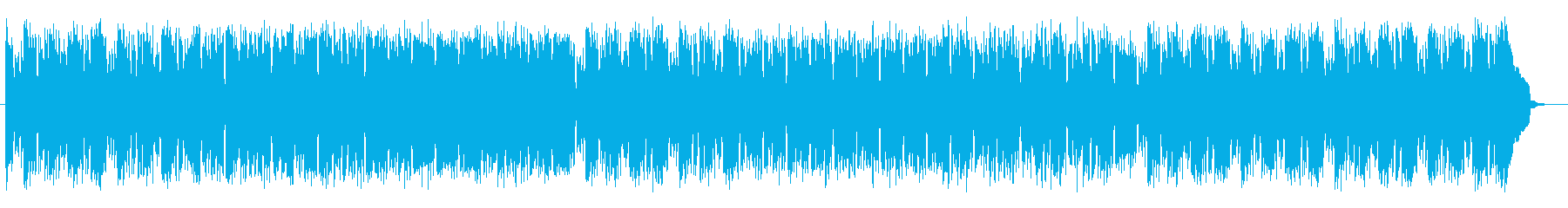 ポップで軽快で優しいピアノサウンドの再生済みの波形