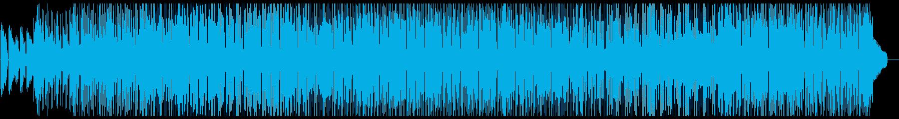 おしゃれで怪しげ、レトロなファンクの再生済みの波形