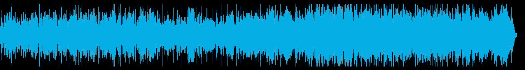 エレクトロニックなアンビエントIDMの再生済みの波形