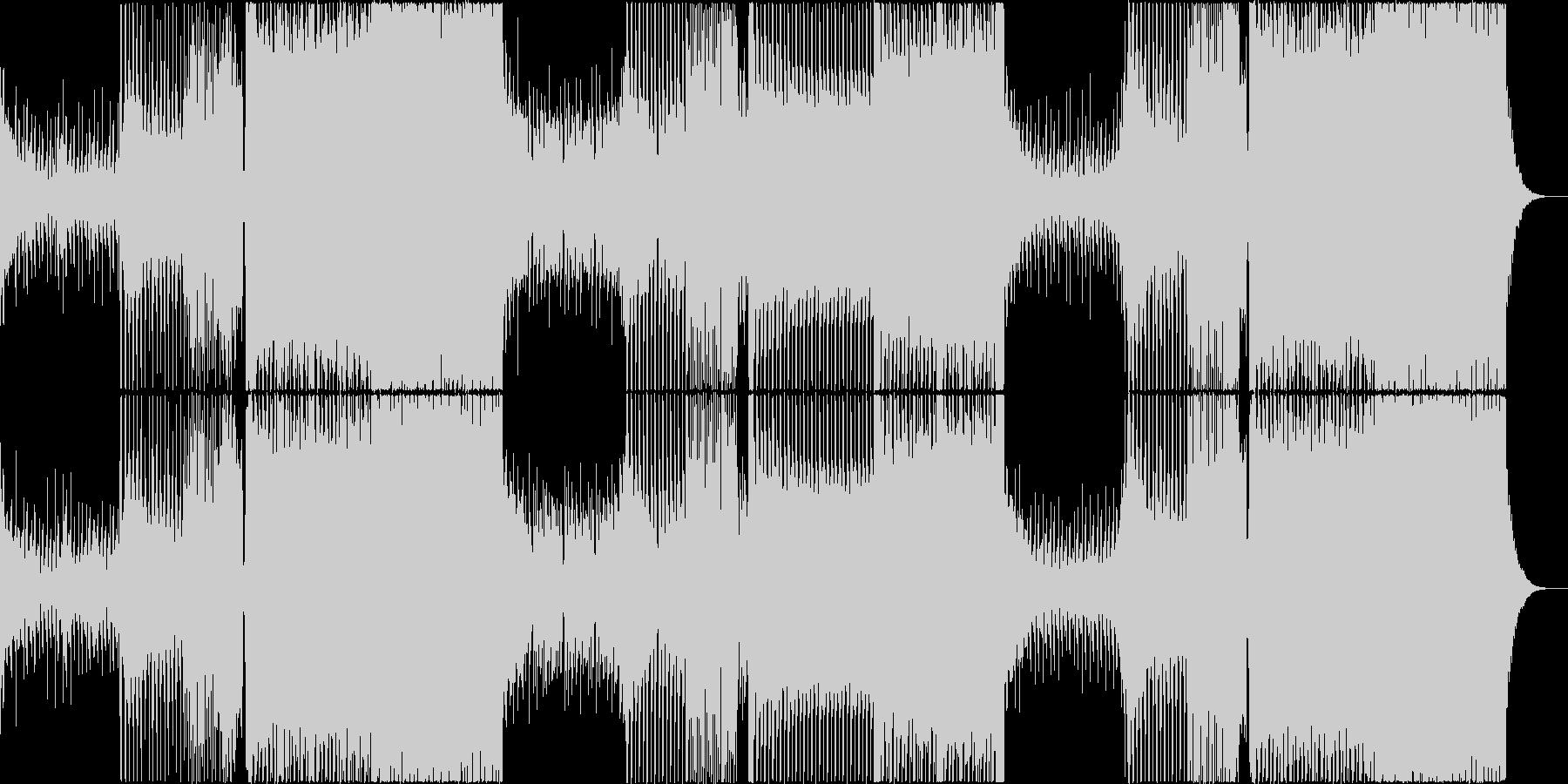 EDM 幻想的 ゲーム オープニングの未再生の波形