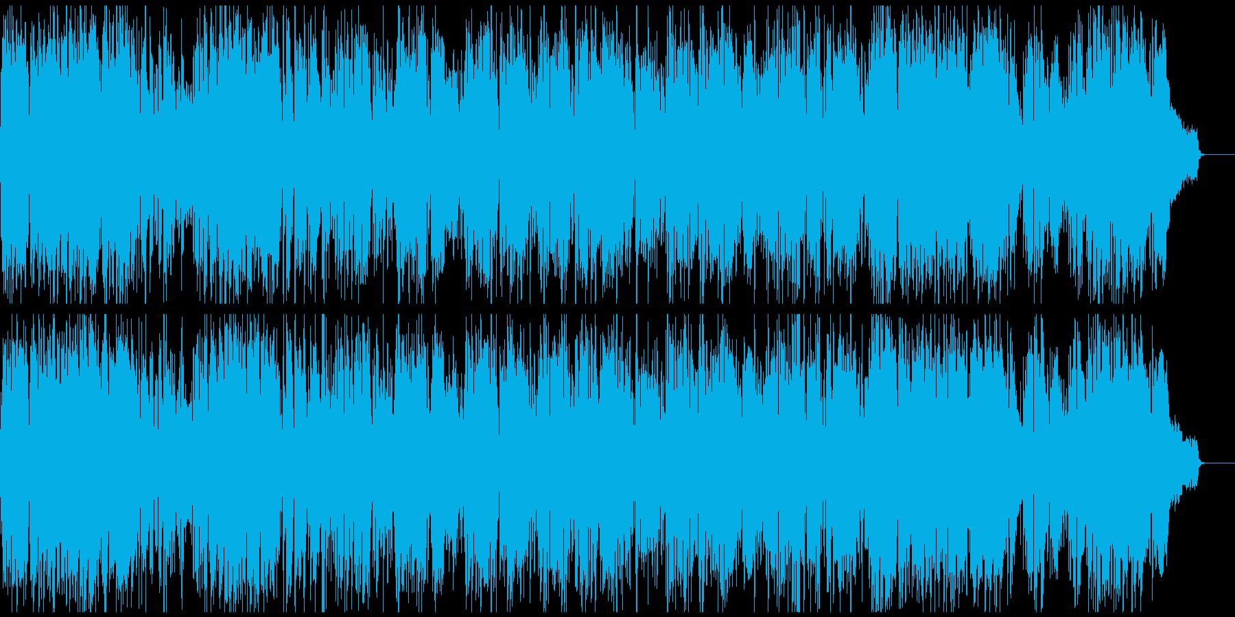 活発で軽快、元気あるスポーティーなジャズの再生済みの波形