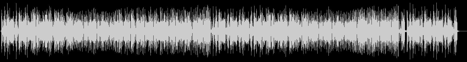 ほのぼのとしたミディアムテンポのポップスの未再生の波形