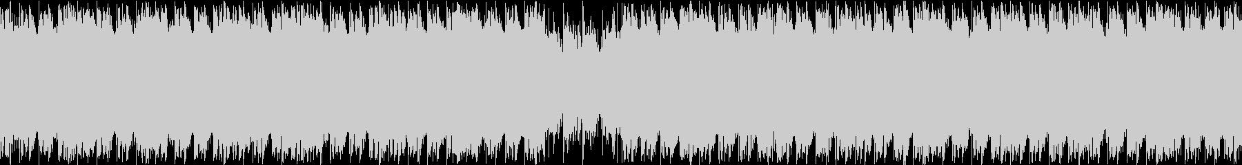 ステージ選択画面・ダンスループシンセの未再生の波形