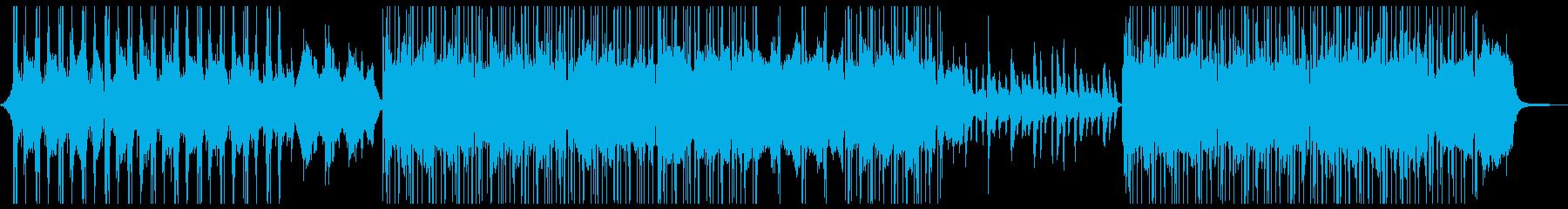 思考_リラックス_ストリングスの再生済みの波形