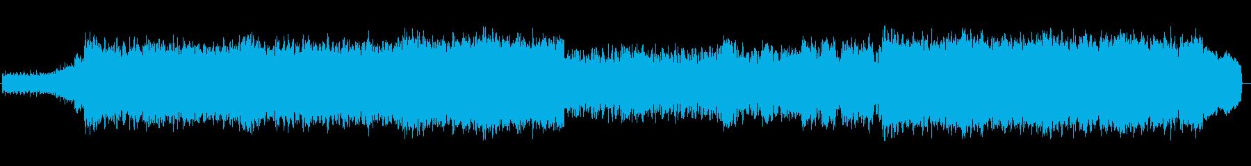 大会 オープニング ロックの再生済みの波形