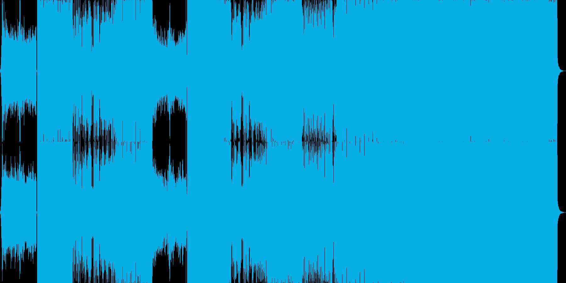爽やかさMAX!ロックインストの再生済みの波形