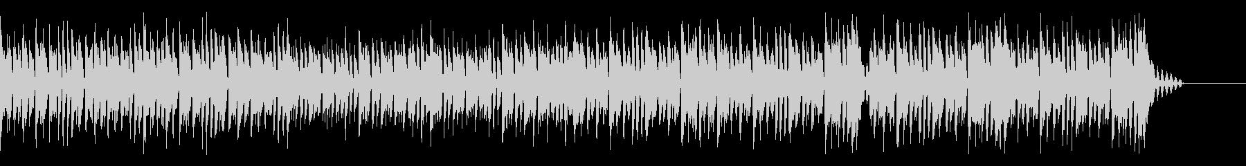 萌えなkawaiifuturebass2の未再生の波形