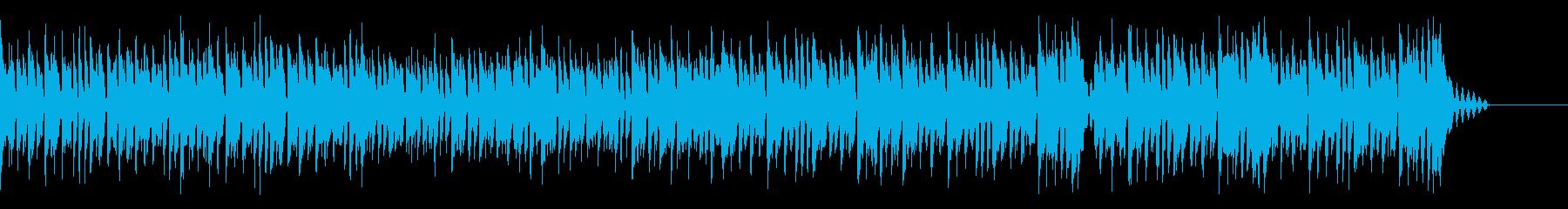 萌えなkawaiifuturebass2の再生済みの波形