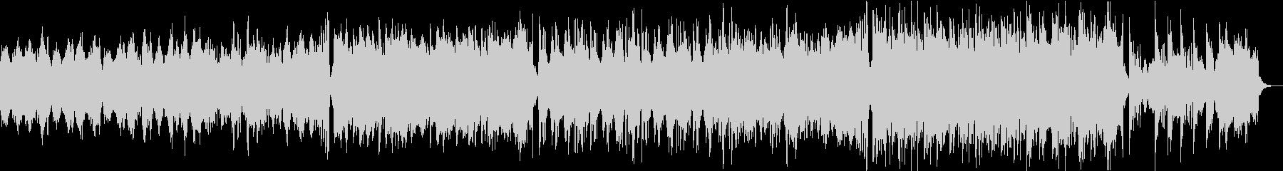 切ないメロディー・オーケストラバラードの未再生の波形