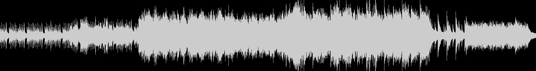 悲しい、切ないピアノのバラード ループ版の未再生の波形
