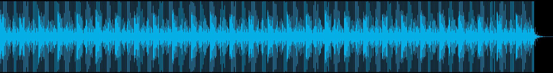 [ニュース報道]無機質:フラット:08の再生済みの波形