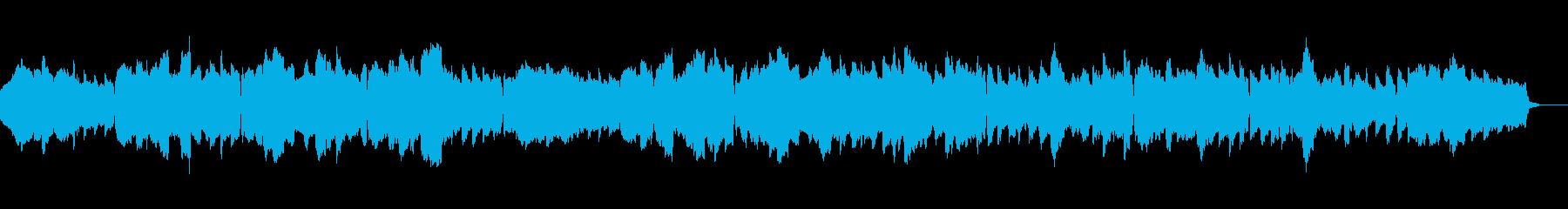 イングリッシュホルンの切ないスローワルツの再生済みの波形
