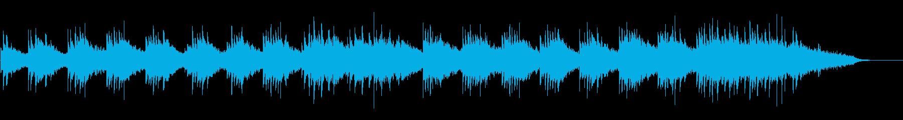 回想シーンの再生済みの波形