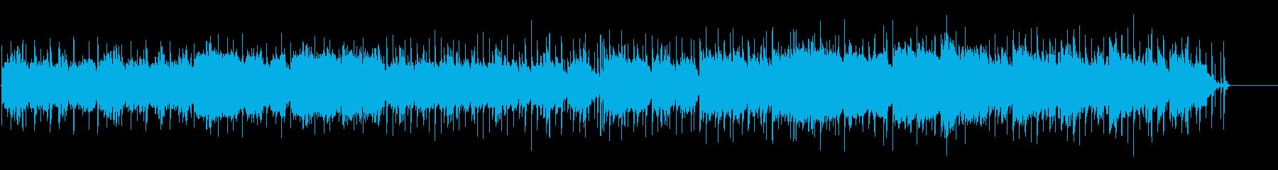 植物園をイメージした幻想的な百弦琴使用曲の再生済みの波形