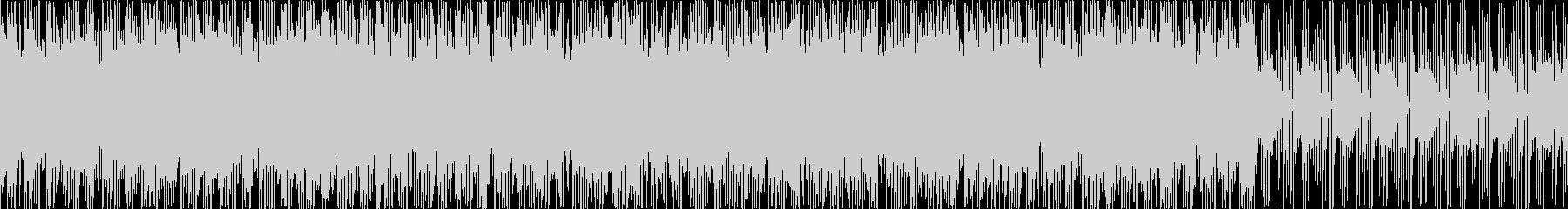 お洒落・ポジティブ・シンプルなBGM、Sの未再生の波形