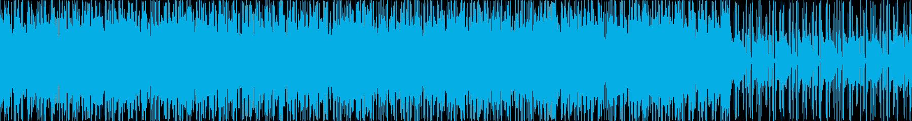 お洒落・ポジティブ・シンプルなBGM、Sの再生済みの波形