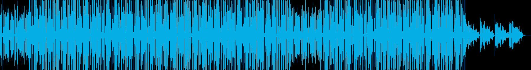 90's風R&B及びJ POP。メロウの再生済みの波形