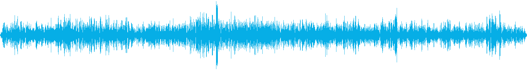走行中の車の中(普通の道路)の再生済みの波形