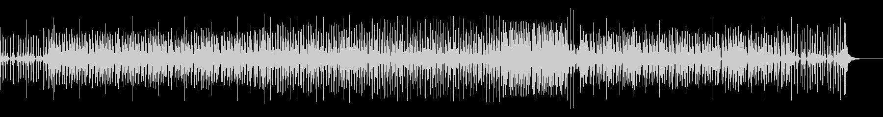 和楽器を使った 和風ダンスミュージックの未再生の波形