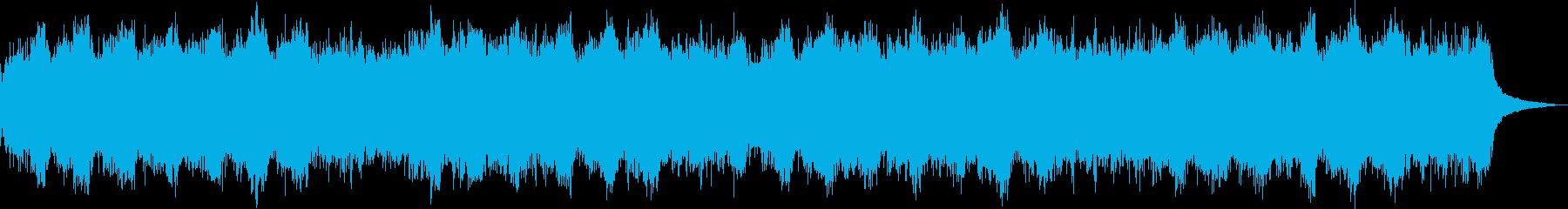 神秘的で不思議なシンセのオリジナル曲ですの再生済みの波形