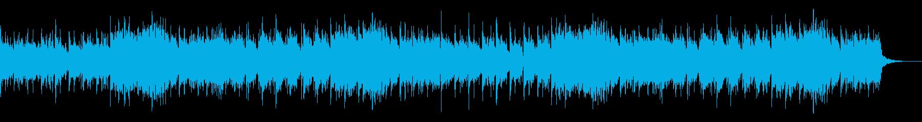 デジタルシネマティックなIDMの再生済みの波形