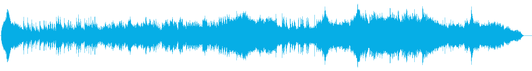 Japanese-style koto (koto) 篳篥 main healing song's reproduced waveform