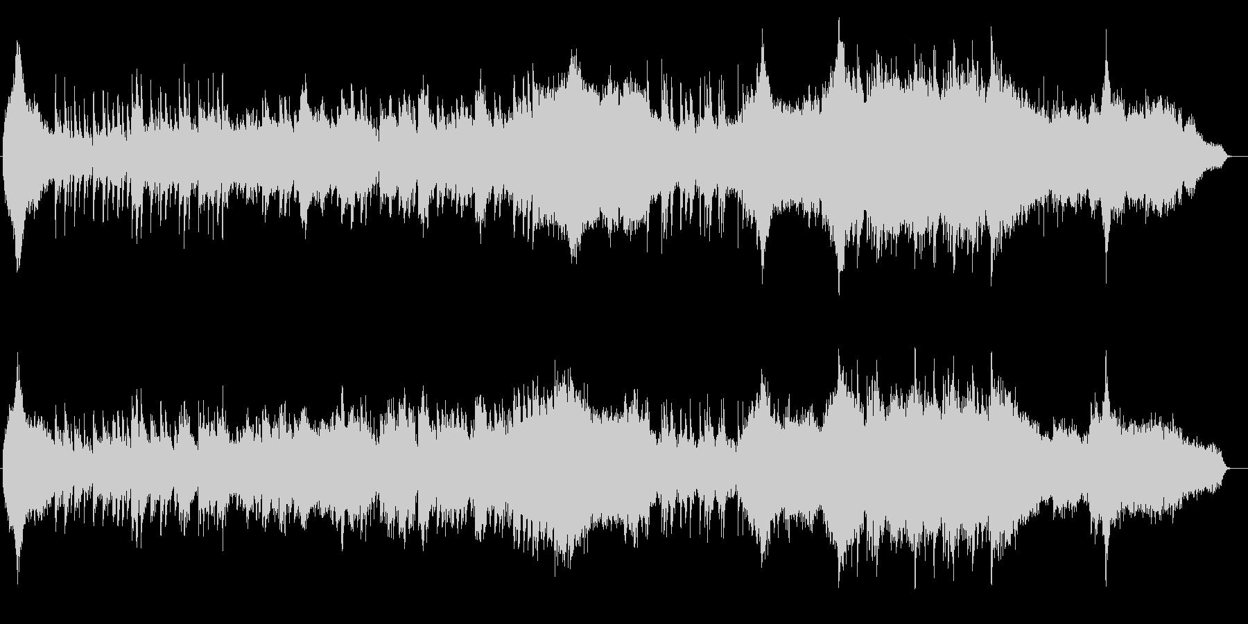 和風 箏(琴)篳篥メインのヒーリング曲の未再生の波形