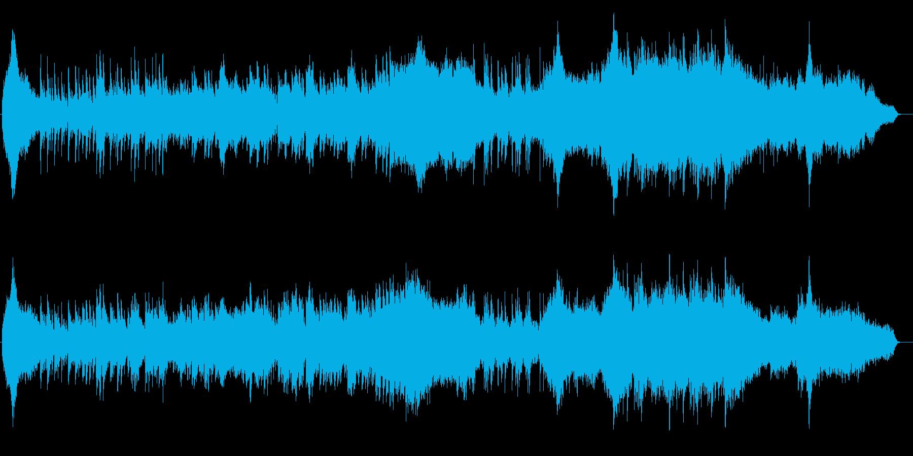 和風 箏(琴)篳篥メインのヒーリング曲の再生済みの波形