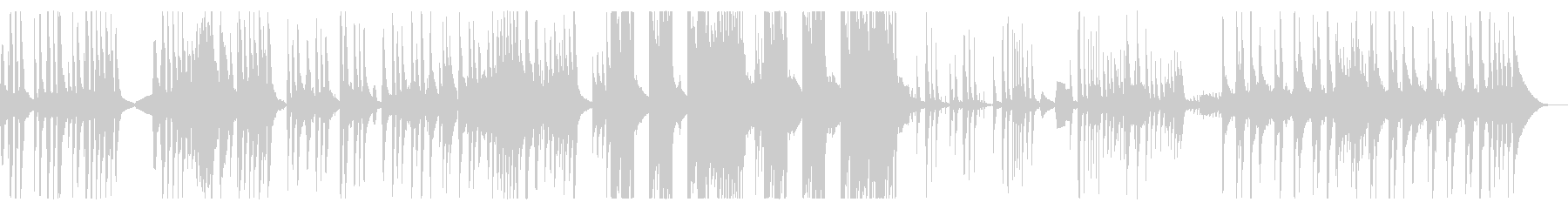 Bone Ukuleleの未再生の波形