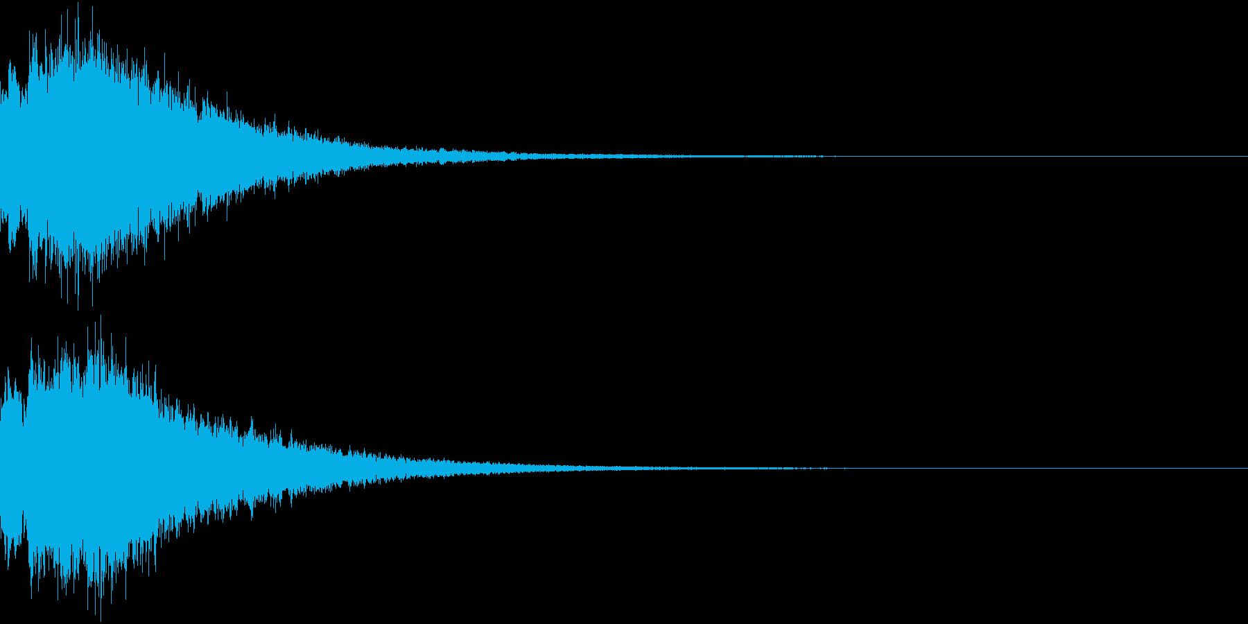 DigitalCoin 電子決済音 2の再生済みの波形