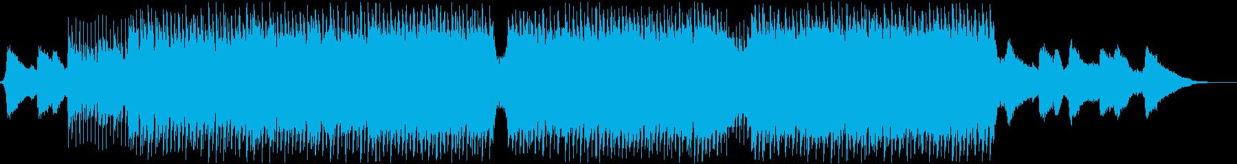 企業VP・映像・ポジティブ爽やかポップ2の再生済みの波形