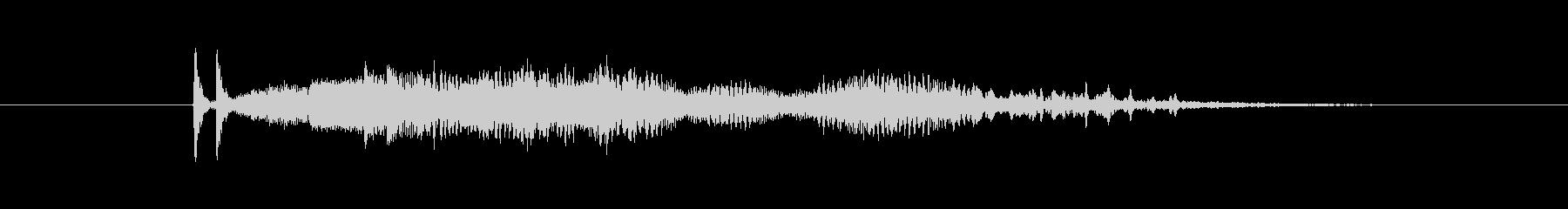 特撮 SFブリープ10の未再生の波形