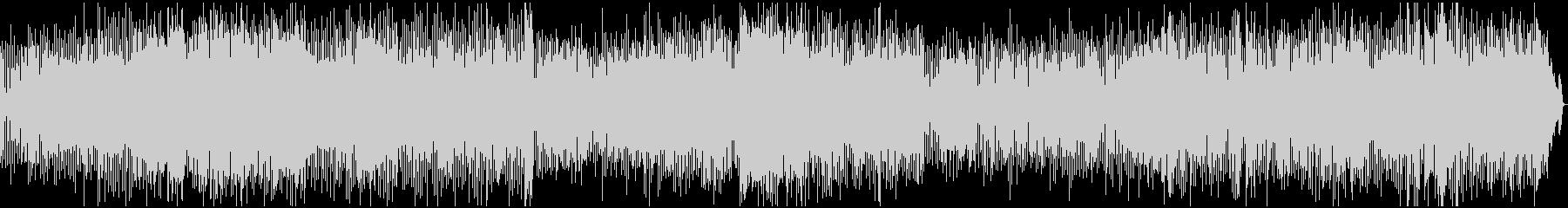 ビブラフォンが印象的なファンクロックの未再生の波形