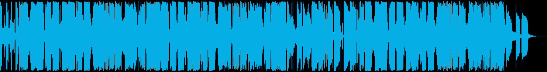 カラフルで爽やかなクラブ系サウンドの再生済みの波形