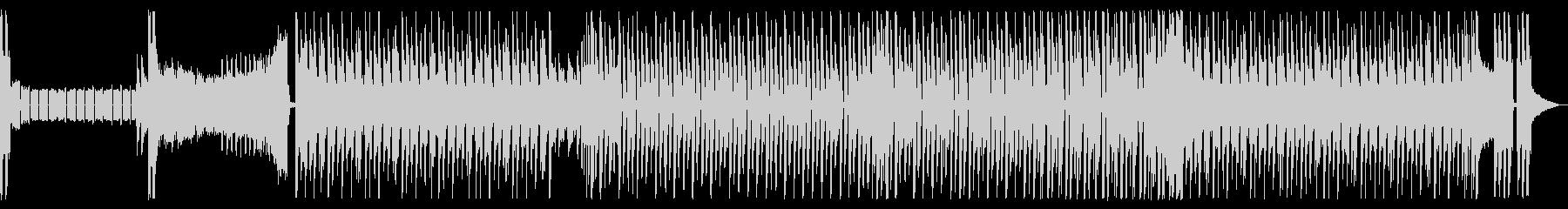 洗練されたクールな近未来的なインストの未再生の波形