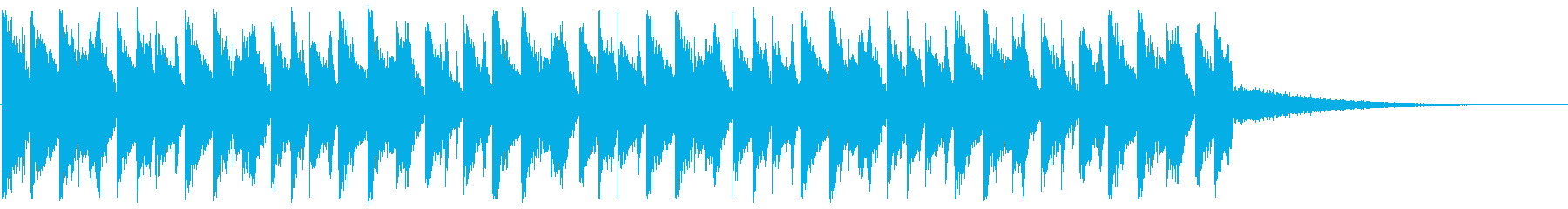 爽やかなEDM_4の再生済みの波形