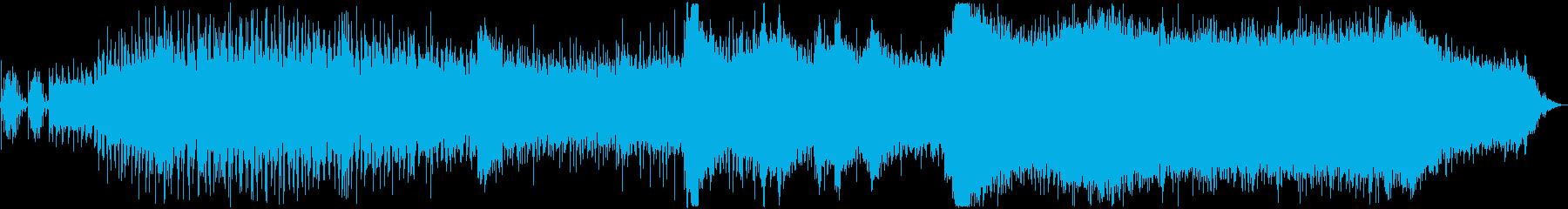 チェーンソー:スタート、ラン、シャ...の再生済みの波形