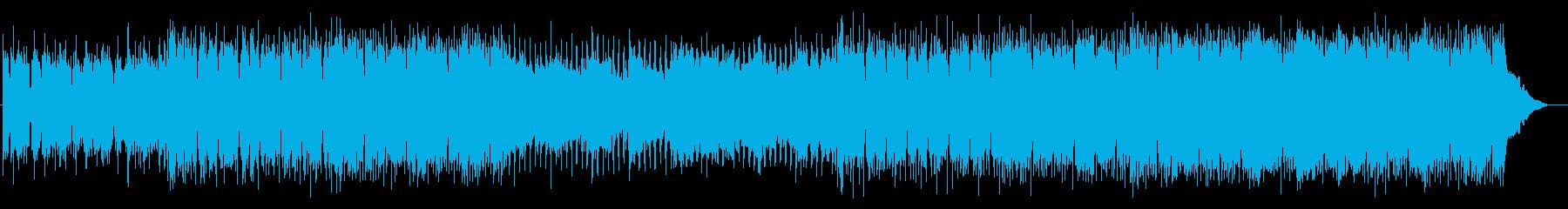 洋楽 ギターポップ 明るい Vlogの再生済みの波形