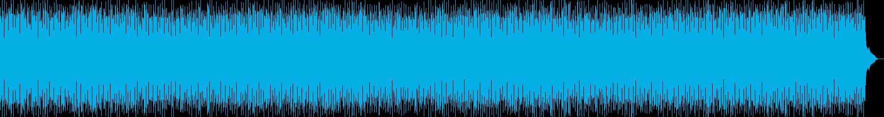 優しいリリカルな雰囲気のテクノポップの再生済みの波形