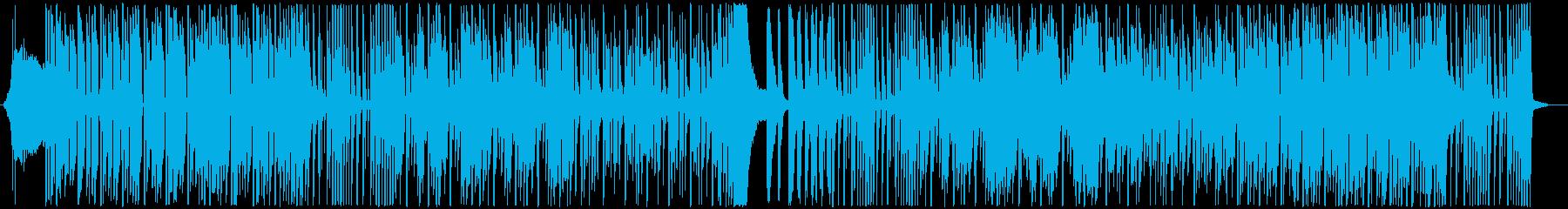 エレクトロとオーケストラの両方の要...の再生済みの波形