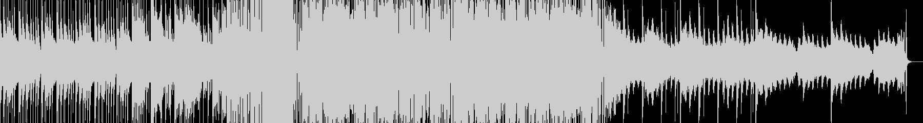 不気味なGRIMEミュージックの未再生の波形