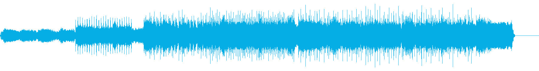 アンコール曲のようなエモバラードロックの再生済みの波形