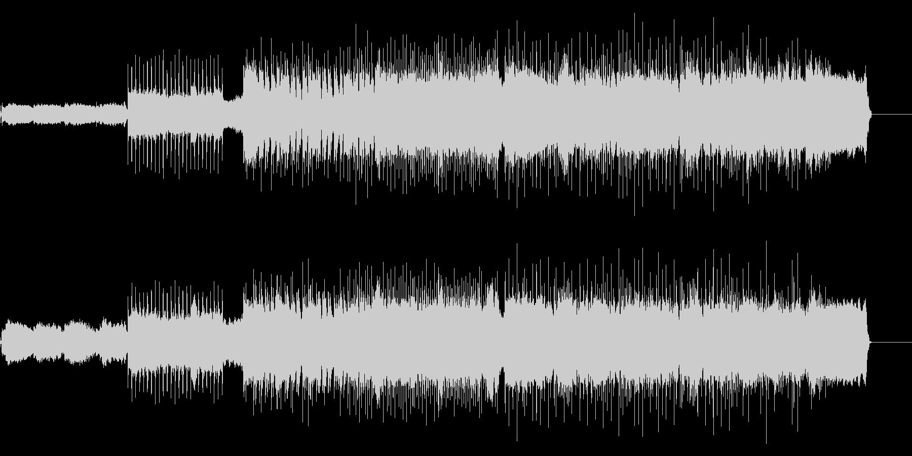 アンコール曲のようなエモバラードロックの未再生の波形