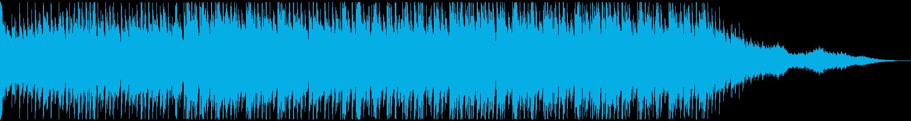 航海をイメージしたギターインストの再生済みの波形