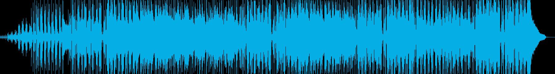 チルアウトな温かいクリスマス風BGMの再生済みの波形