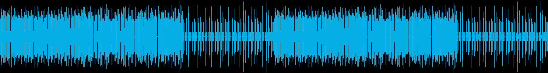 ファミコン風アクションRPGの曲(草原)の再生済みの波形